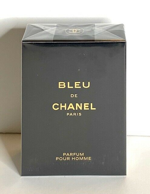 Chanel Bleu De Chanel Parfum Spray 34 Fl Oz 100 ml New Sealed For Men