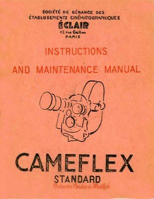 CAMEFLEX INSTRUCTION MANUAL FREE SHIP
