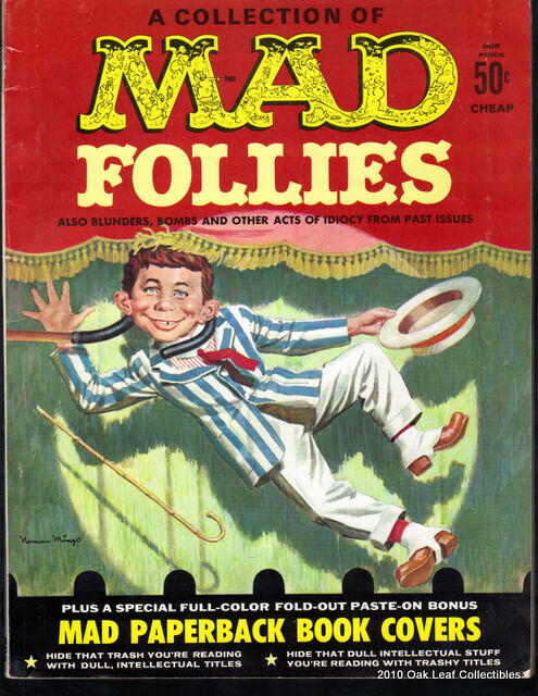 Mad Follies nn   fine-VF Posters Firmly Attached!  1963