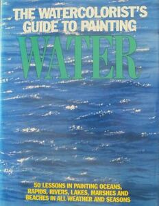 4 WATERCOLOUR INSTRUCTION BOOKS
