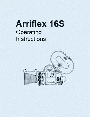 ARRIFLEX 16S INSTRUCTION MANUAL FREE SHIP