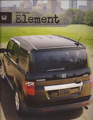 2011 11 Honda Element  Original Sales Brochure MINT
