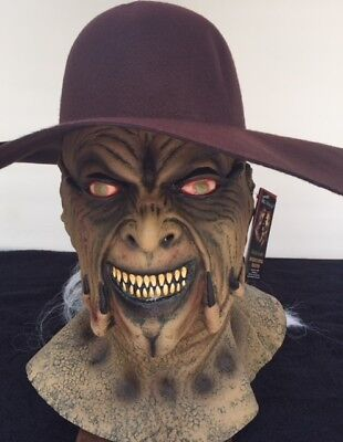 Halloween JEEPERS CREEPERS Latex Mask + CREEPER HAT YOU GET BOTH + FREE SHIPPING