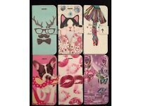 100 x MIX iPhone 5/5S/SE/6/6S Flip Pouch Covers Brand New QUICK SALE