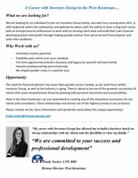 A Career with Investors Group in the West Kootenays…
