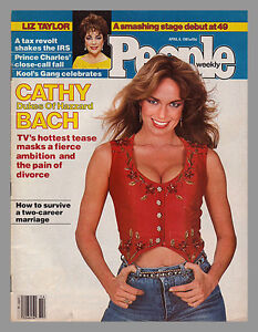 CATHERINE BACH DUKES OF HAZZARD PEOPLE WEEKLY COVER 1981