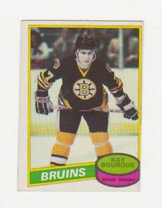Carte de hockey Raymond Bourque Recrue OPC 1980-81 (A4811)