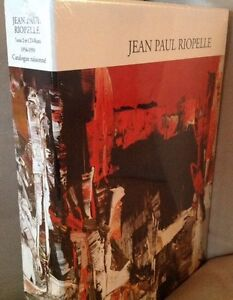 Catalogue raisonné de Jean-Paul Riopelle