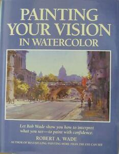 4 WATERCOLOUR INSTRUCTION BOOKS