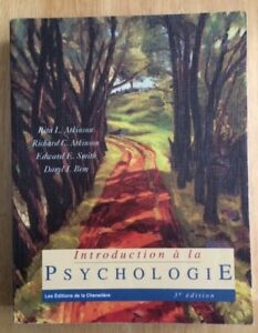 introduction à la psychologie (Soins infirmiers)