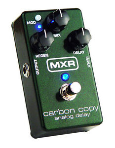 Looking for MXR Carbon Copy and Reverb