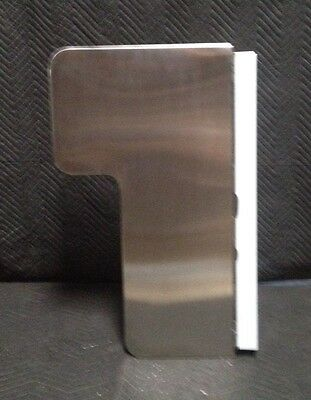 (Bradley Wall Mounted Stainless Steel L-Shaped Shower Seat)