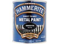 Black hammerite smoth 2,5 L