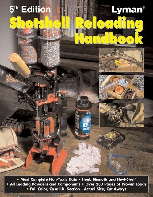 Lyman 9827111 Shotshell Reloading Handbook 5th Edition
