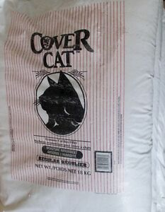 Sealed  Cat litter 18kg   bags