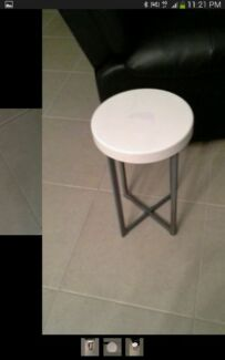 Industrial metal side lamp table Cranbourne East Casey Area Preview