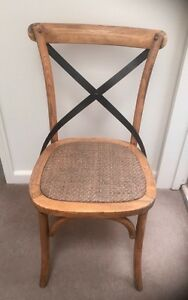 French Oak - Provincial Style - Dining Chairs - Set of 4 Woollahra Eastern Suburbs Preview