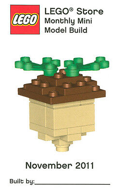 Constructibles  Acorn Mini Model Lego  Parts   Instructions Kit