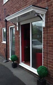 NEW 2MTR SCROLLED DOOR CANOPY /PORCH    FREE BRACKETS FREE DELIVERY