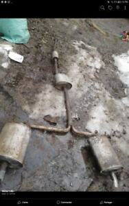 Honda accord duel exhaust it was on a 2003 3.0l