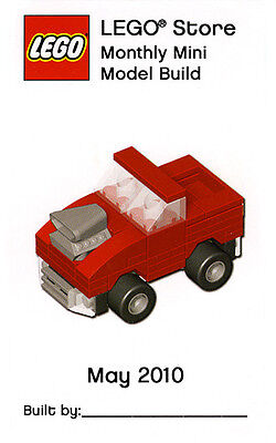 Constructibles  Hot Rod Truck Lego  Mini Build Parts   Instructions Kit
