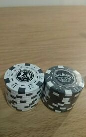 Jack Daniels Casino Poker Chips