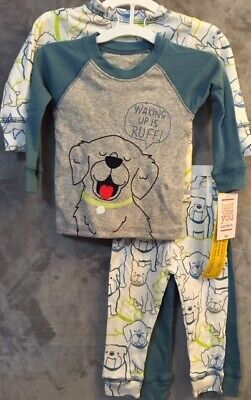 - NEW Carter's Just One You Boys' 4 Piece Pajamas Set Dogs/Puppies Size 9 Months