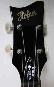 I'm Looking For Hofner Bass Guitar