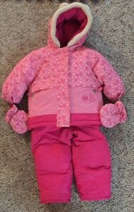 Girls snowsuit size 18 months