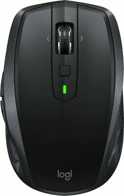 Logitech - MX Anywhere 2S Wireless Laser Mouse - Black//New//Free Shipping
