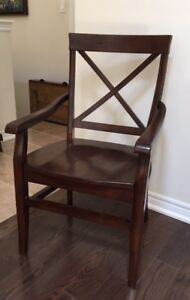 Solid Wood Side Chair For Sale