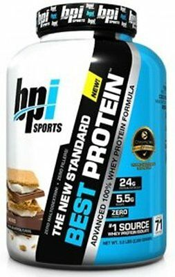 BPI Sports Best Protein 2 lb / 5 lb Best Protein 100% Whey Protein Choose Flavor