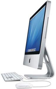 "Apple 24"" iMac Intel C2D 2.8GHz 4GB 2TB HD  El Capitan"