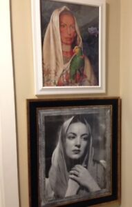 Various Mexican Lithography Framed