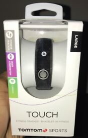 TomTom Touch Cardio + Body Composition Fitness Tracker- SEALED (SIZE LARGE)
