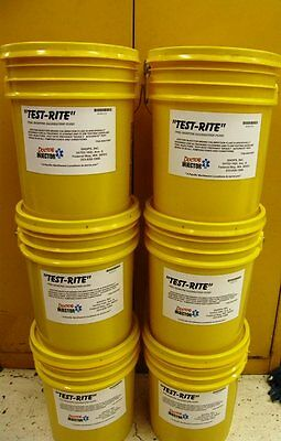 "Fuel Injector ""TESTRITE"" calibration fluid 5 gallons perfect for ASNU machine!"