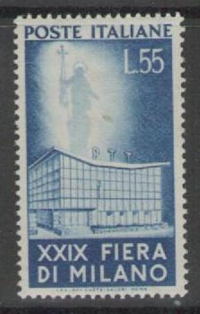 ITALY SG784 1951 29th MILAN FAIR 55L MTD MINT