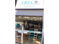 Class 3 Greek Restaurant/Cafe leasehold for sale