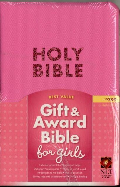 NLT Gift & Award Imitation Leather Pink (Bible Nlt) (Imitation Le. 9781414368269
