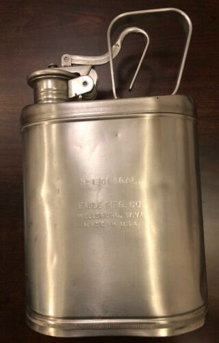 Vintage Eagle 1-Gal Stainless Chemical Can