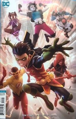 TEEN TITANS #21 VARIANT COVER AUG 2018 CRUSH DC COMIC BOOK NEW 1 SOLD OUT GARNER