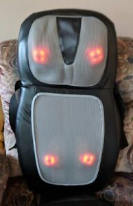 Massaging Cushion Chair w/ Heat (HoMedics SBM-500H) (Reduced!)