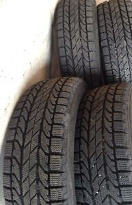 235 65 R17 BF GOODRICH SLALOM Winter Tires (NO RIMS) LIKE NEW