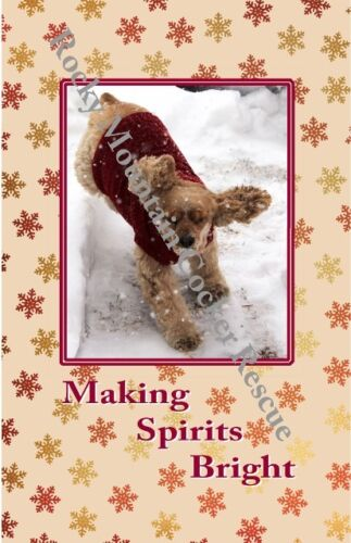 Cocker Spaniel Christmas Cards - boxes of 10