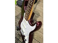 Fender Stratocaster --Wine Red --Possible trade for Bass