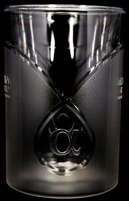 Alpha Noble Vodka, Acryl Relief Design Eiswürfelkühler, Flaschenkühler.