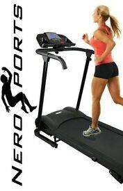 Nero Sport Manual Incline Folding Running Machine Motorised Treadmill - Special Offer £120!!