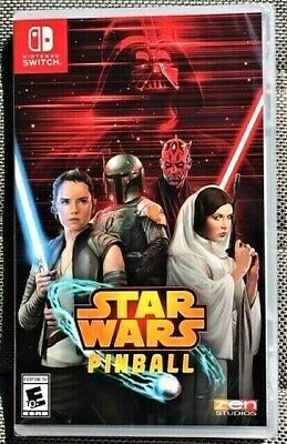 STAR WARS PINBALL - Nintendo Switch 2019 - Brand NEW Factory SEALED U.S. Release
