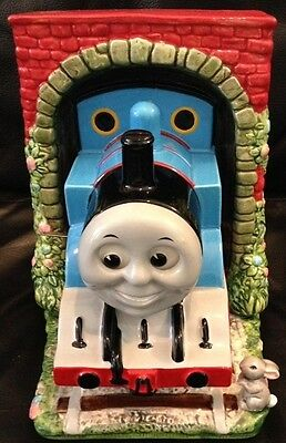 Vintage Thomas the Tank Engine Wind Up Music Box  Item # 48771  1994 Limited