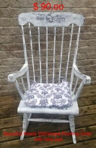 Chalk Painted Rocking Chair